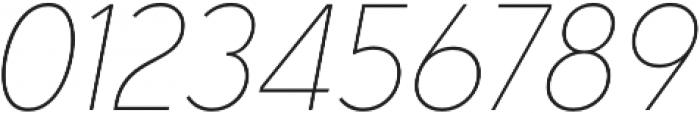 Senkron Blok Thin Obl otf (100) Font OTHER CHARS