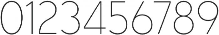 Senkron Blok Thin otf (100) Font OTHER CHARS