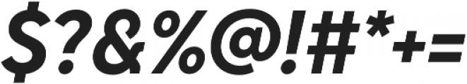 Senkron Bold Obl otf (700) Font OTHER CHARS