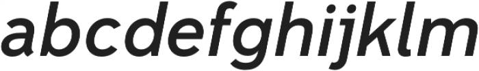 Senkron Medium Obl otf (500) Font LOWERCASE
