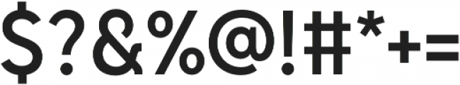 Senkron Medium otf (500) Font OTHER CHARS