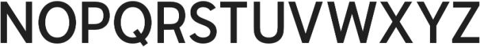 Senkron Medium otf (500) Font UPPERCASE