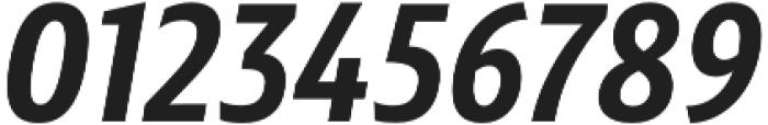 Senlot Sans Norm ExBold Italic otf (700) Font OTHER CHARS