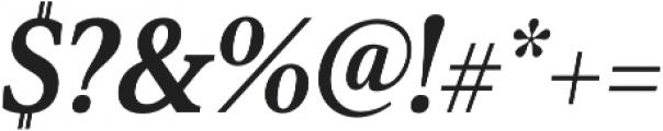 Senlot Serif Cond Black Italic otf (900) Font OTHER CHARS