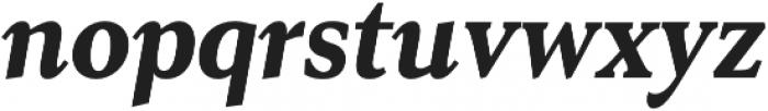Senlot Serif Cond Black Italic otf (900) Font LOWERCASE