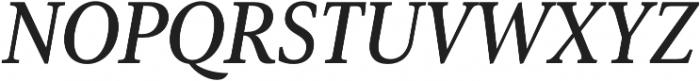Senlot Serif Norm Demi Italic otf (400) Font UPPERCASE