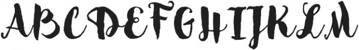 Sensa Brush Fill otf (400) Font UPPERCASE