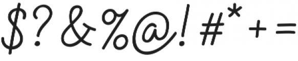 Sensa Pen otf (400) Font OTHER CHARS