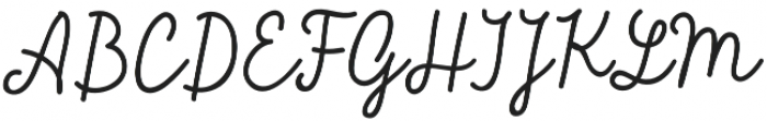 Sensa Pen otf (400) Font UPPERCASE