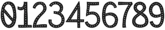 Sensa Wild Dot Fill otf (400) Font OTHER CHARS