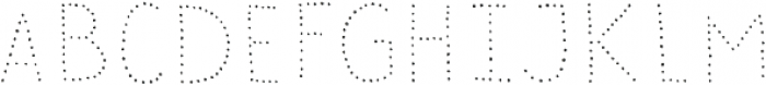 Sensa Wild Dot otf (400) Font UPPERCASE