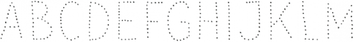 Sensa Wild Dot otf (400) Font LOWERCASE