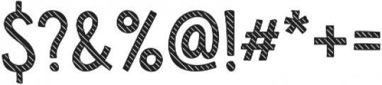 Sensa Wild Line Fill otf (400) Font OTHER CHARS