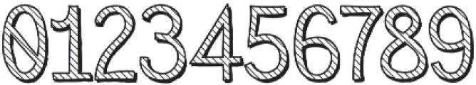 Sensa Wild Line Outline Shade otf (400) Font OTHER CHARS