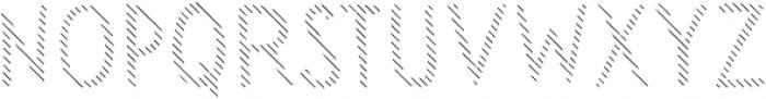 Sensa Wild Line otf (400) Font UPPERCASE