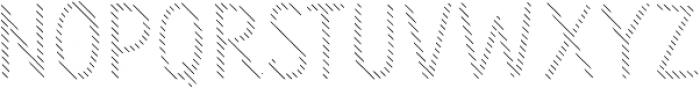 Sensa Wild Line otf (400) Font LOWERCASE