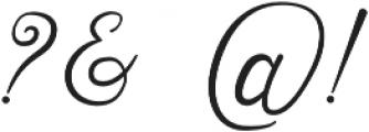 Sensitype otf (400) Font OTHER CHARS