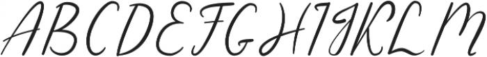 Sensitype otf (400) Font UPPERCASE