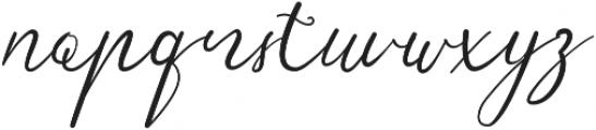 Sensitype otf (400) Font LOWERCASE