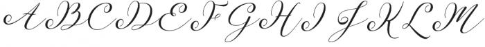 Sentosha Script Regular otf (400) Font UPPERCASE