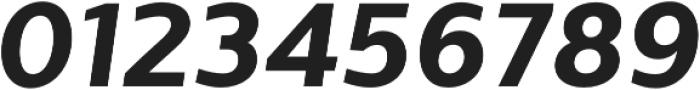 Sentral ExtraBold Italic otf (700) Font OTHER CHARS