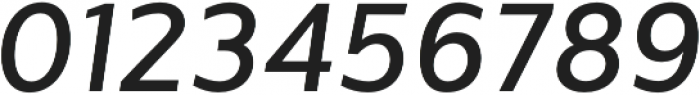 Sentral Medium Italic otf (500) Font OTHER CHARS