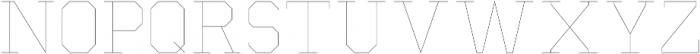 Separator ExtraLight otf (200) Font UPPERCASE