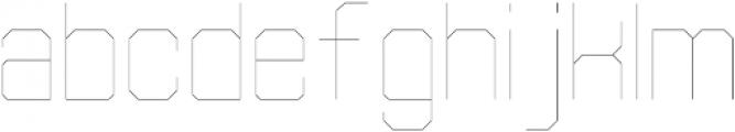 Separator ExtraLight otf (200) Font LOWERCASE