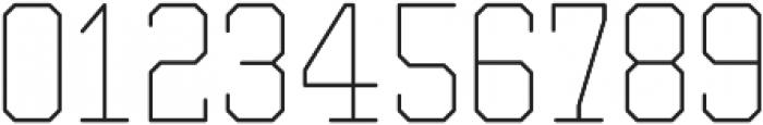 Separator Light otf (300) Font OTHER CHARS
