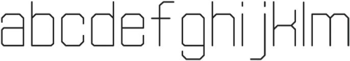 Separator Light otf (300) Font LOWERCASE