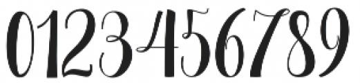 September Script otf (400) Font OTHER CHARS