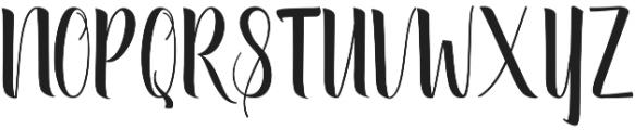 September Script otf (400) Font UPPERCASE