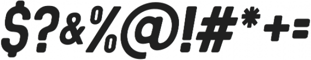 Sequel Neue Italic otf (400) Font OTHER CHARS
