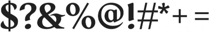 Serat DemiBold ttf (600) Font OTHER CHARS