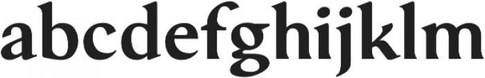 Serat DemiBold ttf (600) Font LOWERCASE