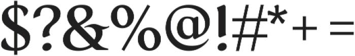 Serat Medium ttf (500) Font OTHER CHARS