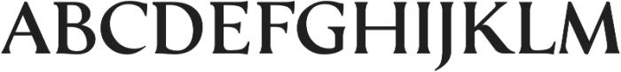 Serat Medium ttf (500) Font UPPERCASE
