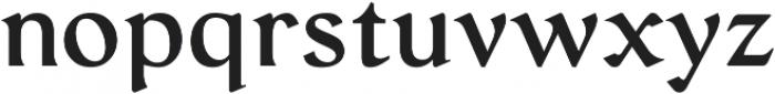 Serat Medium ttf (500) Font LOWERCASE
