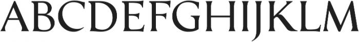 Serat Regular ttf (400) Font UPPERCASE