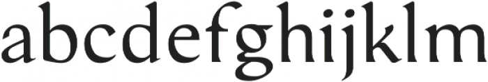 Serat Regular ttf (400) Font LOWERCASE