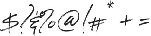 Serendipity One ttf (400) Font OTHER CHARS