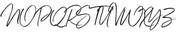 Serendipity One ttf (400) Font UPPERCASE