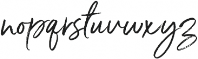 Serendipity One ttf (400) Font LOWERCASE