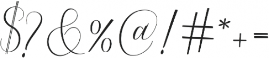 Serendipity ttf (400) Font OTHER CHARS