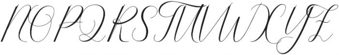 Serendipity ttf (400) Font UPPERCASE
