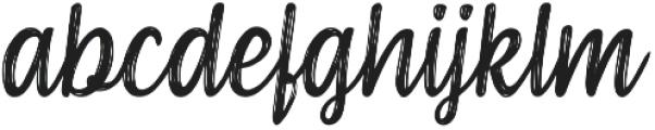 Serene Textured otf (400) Font LOWERCASE