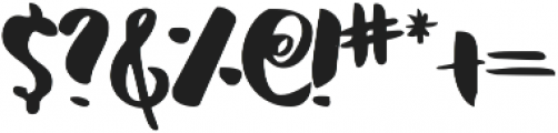Serene ttf (400) Font OTHER CHARS