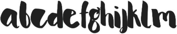 Serene ttf (400) Font LOWERCASE