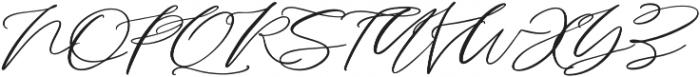Serenity Script Bold otf (700) Font UPPERCASE