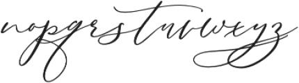 Serenity Script Bold otf (700) Font LOWERCASE